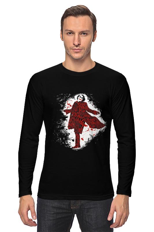 Лонгслив Printio Джокер костюм веселого клоуна 34