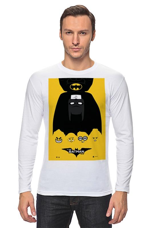 Лонгслив Printio Лего фильм: бэтмен / the lego batman movie huong movie 30cm batman v superman dawn of justice the dark night batman armored blinde pvc figure collectible model toys