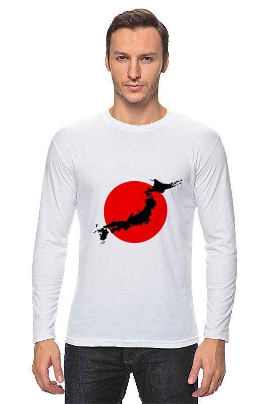 Лонгслив Printio Остров япония уют 100х175 япония белый