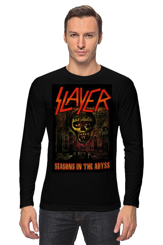 Лонгслив Printio Slayer-season in the abyss 1990