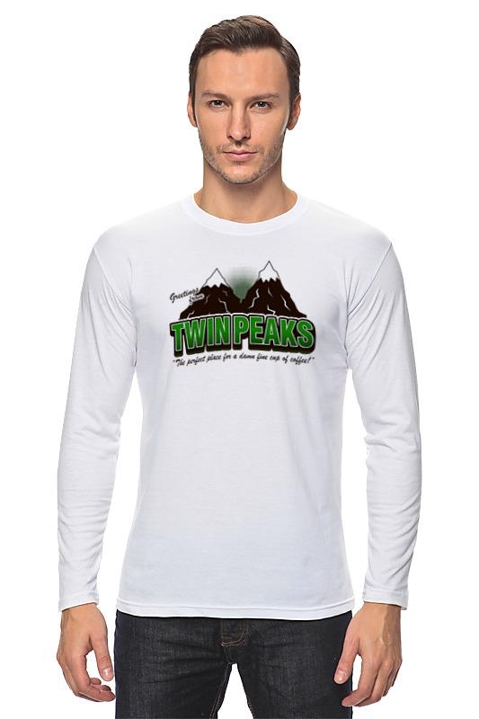Лонгслив Printio Twin peaks майка print bar welcome to twin peaks