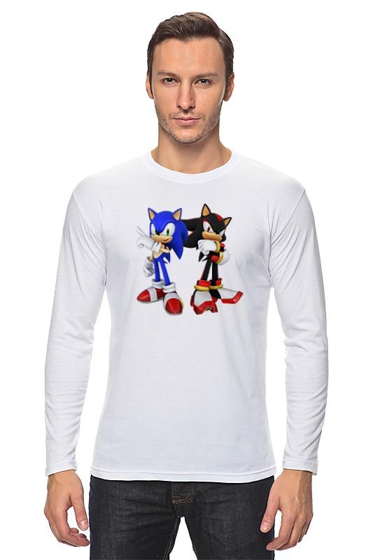 Лонгслив Printio Sonic x лонгслив printio x men