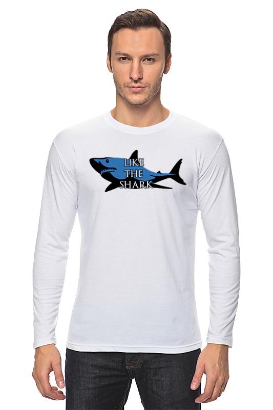 Лонгслив Printio Like the shark футболка wearcraft premium printio like the shark
