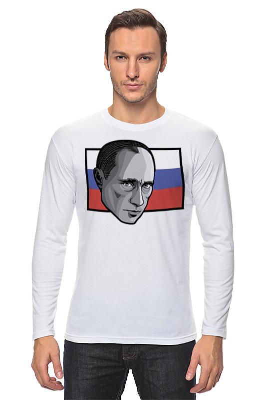Лонгслив Printio Путин (россия)
