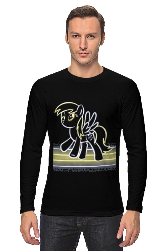 Лонгслив Printio My little pony: derpy футболка wearcraft premium printio my little pony дёрпи derpy