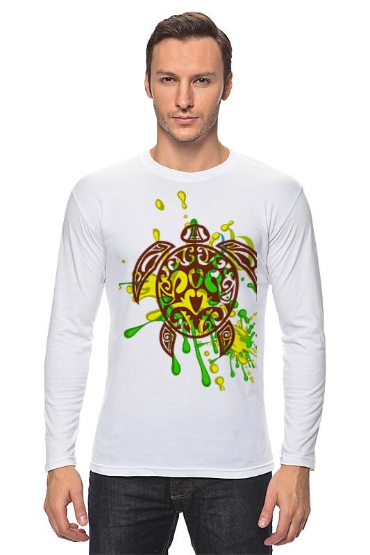 Лонгслив Printio Морская черепашка 212356 футболка wearcraft premium printio морская черепашка 212356