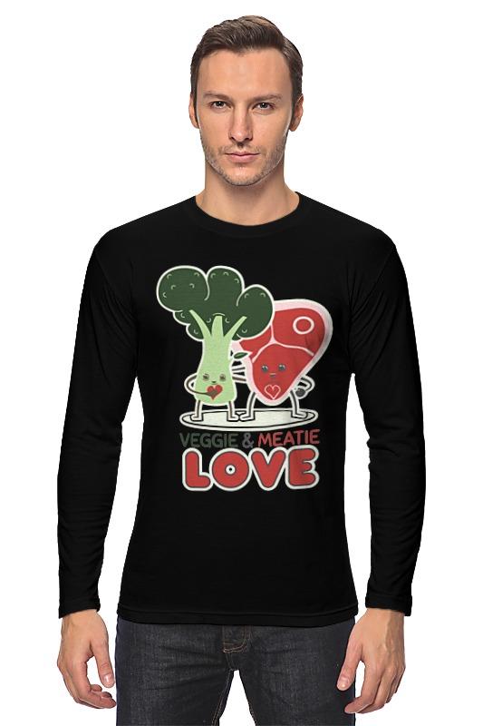 Лонгслив Printio Овощно-мясная любовь