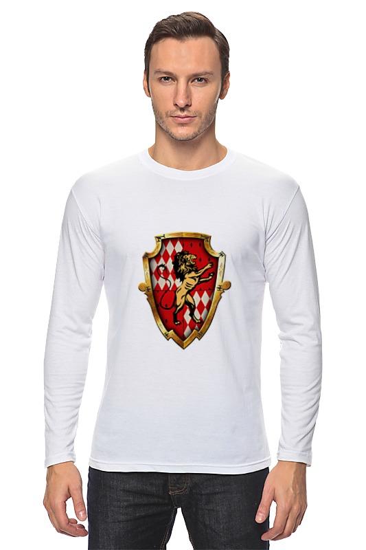 Лонгслив Printio Gryffindor футболка классическая printio gryffindor