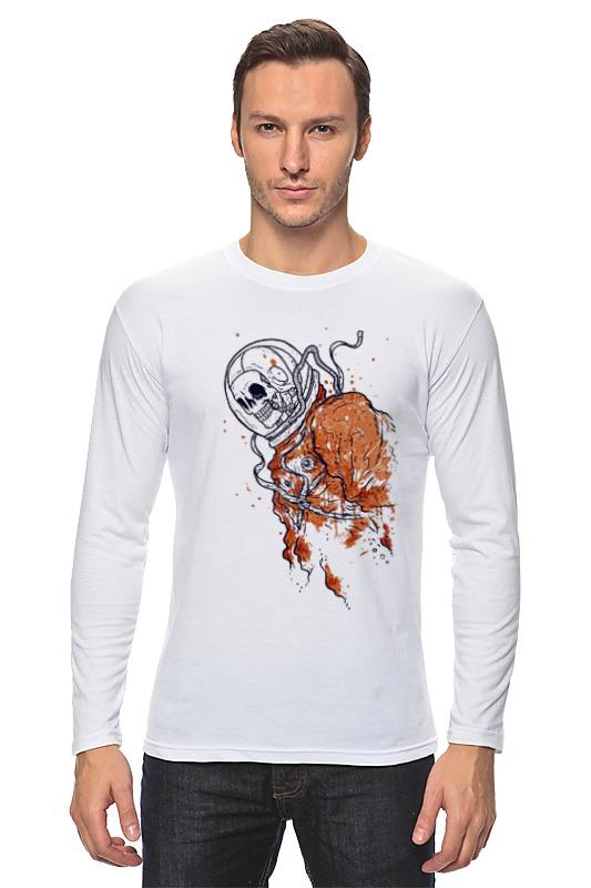 Лонгслив Printio Портрет космонавта лонгслив printio николай гоголь портрет работы фёдора моллера