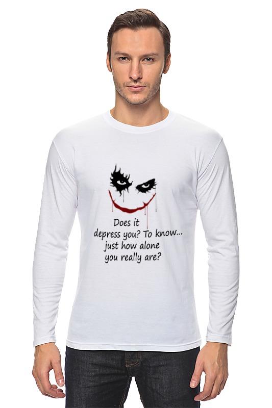 Лонгслив Printio Джокер(joker) dc comics брелок dc comics the joker card