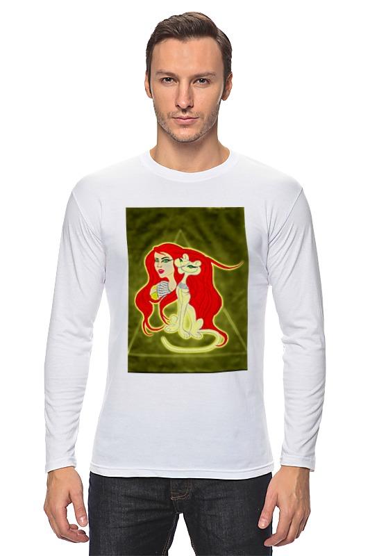 Лонгслив Printio Бастет-богиня любви футболка wearcraft premium slim fit printio бастет богиня любви