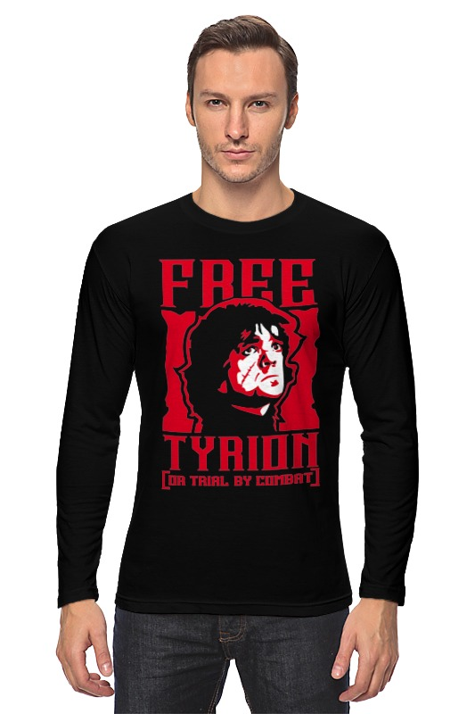 Лонгслив Printio Free tyrion