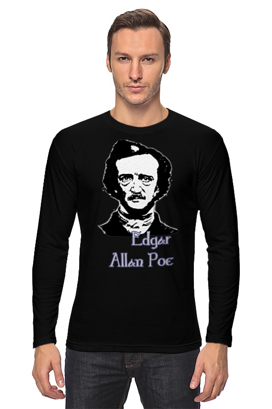 Лонгслив Printio Эдгар аллан по (edgar allan poe) edgar allan poe the best of edgar allan poe volume 4