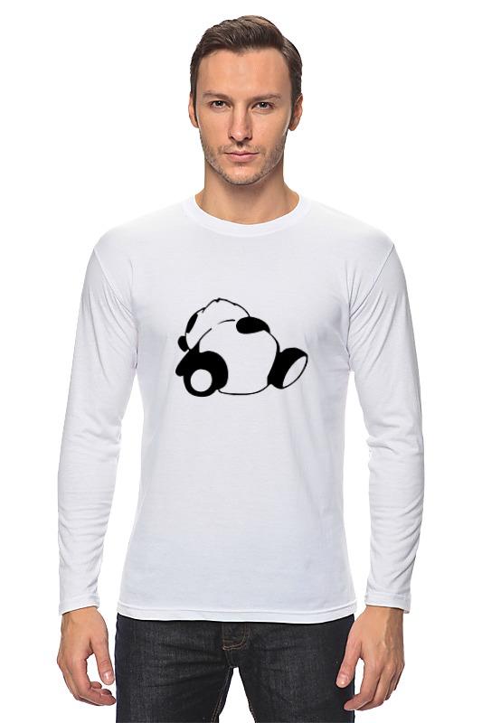 Лонгслив Printio Спящая панда спящая красавица