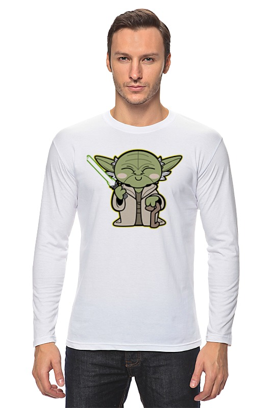 Лонгслив Printio Yoda star wars цены