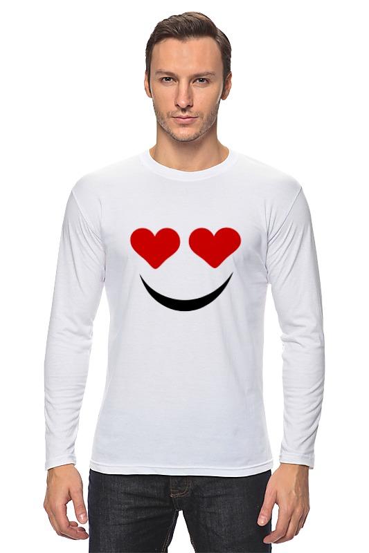 Лонгслив Printio Футболка улыбка футболка классическая printio футболка улыбка
