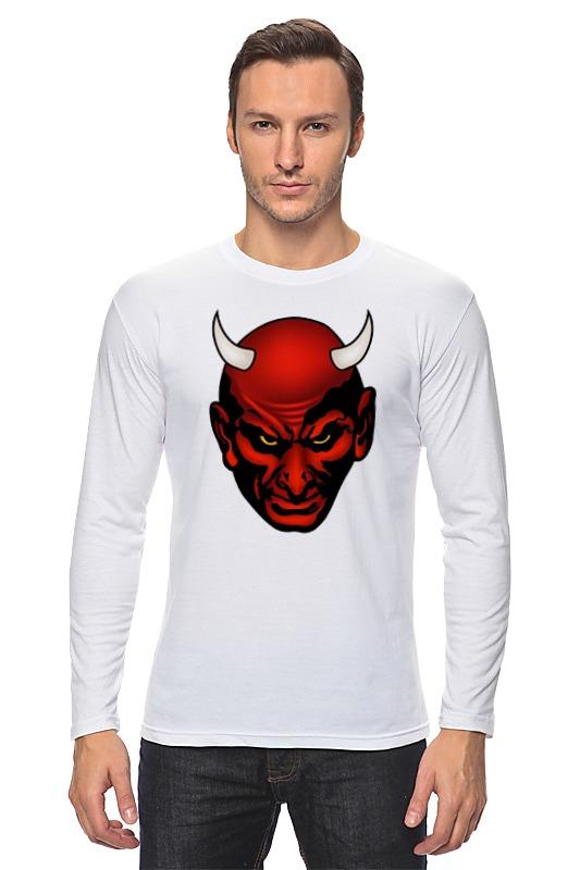Лонгслив Printio Дьявол дьявол носит прада диск