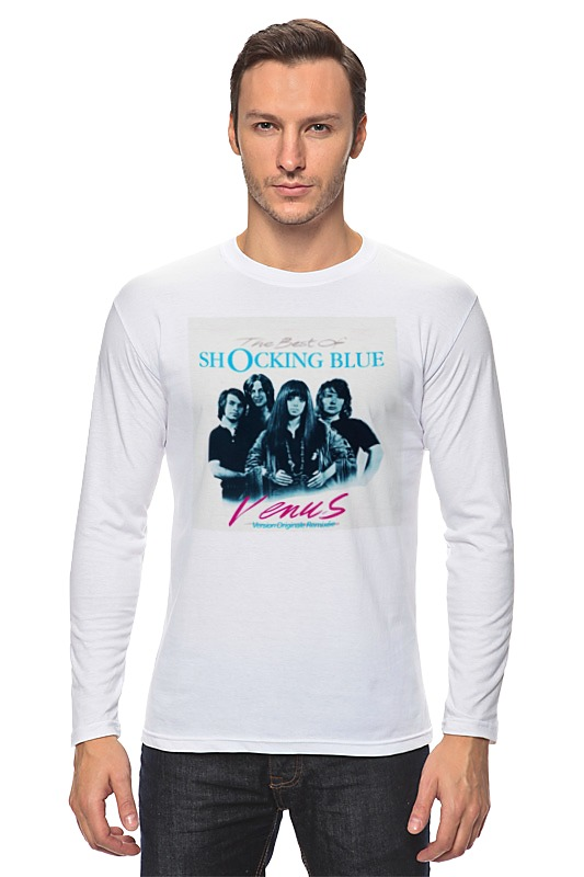 Лонгслив Printio Shocking blue