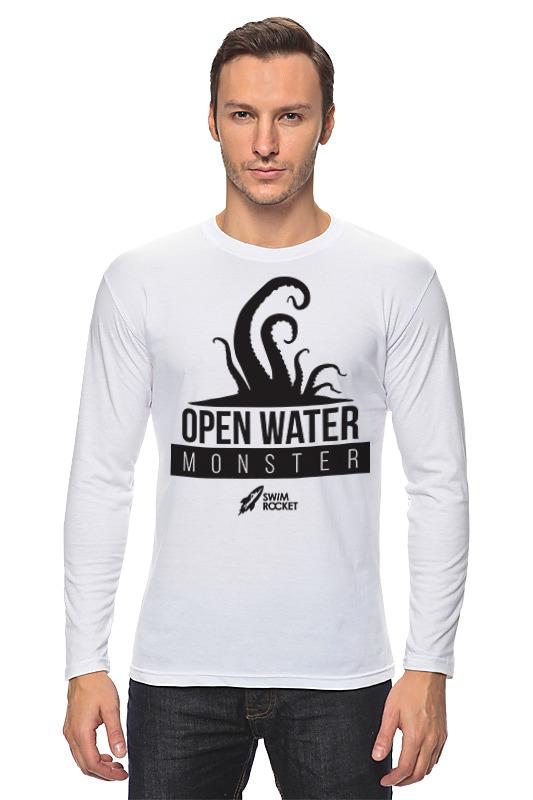 Лонгслив Printio Open water monster футболка классическая printio open water monster