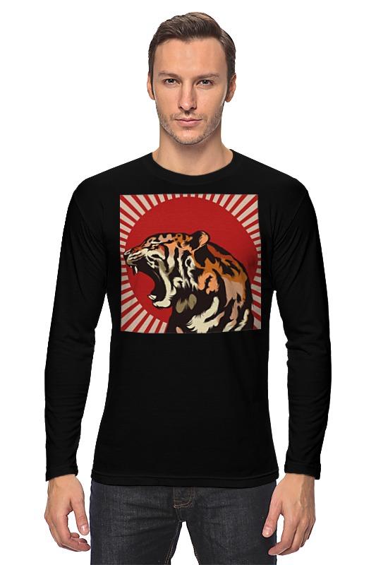 Лонгслив Printio Тигр арт пазл 360 арт терапия тигр 02349