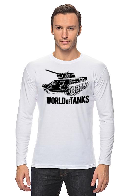 Лонгслив Printio World of tanks лонгслив printio world of tanks