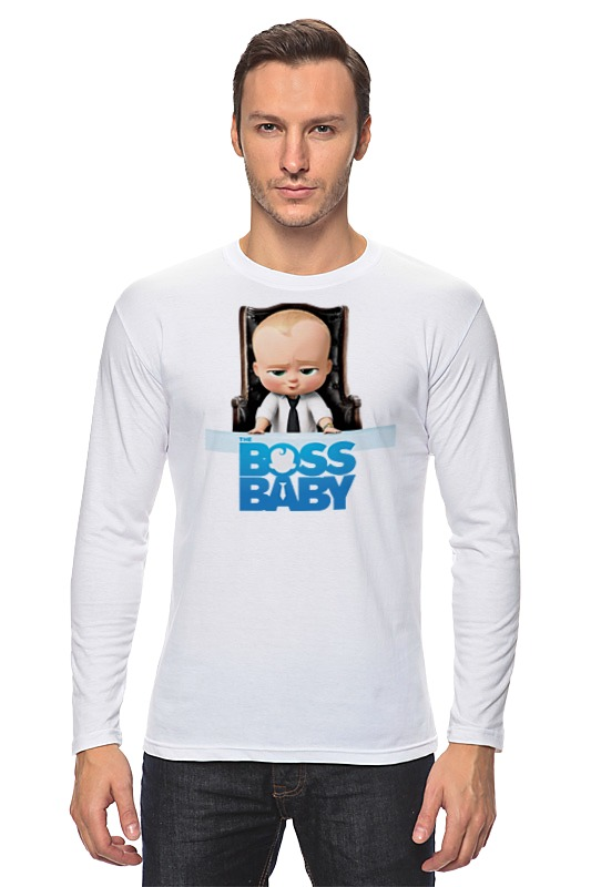 Лонгслив Printio Босс-молокосос / the boss baby босс молокосос blu ray 3d