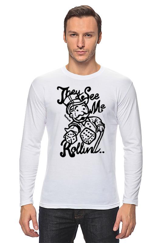 Лонгслив Printio Fallout (фэллаут) футболка классическая printio fallout фэллаут