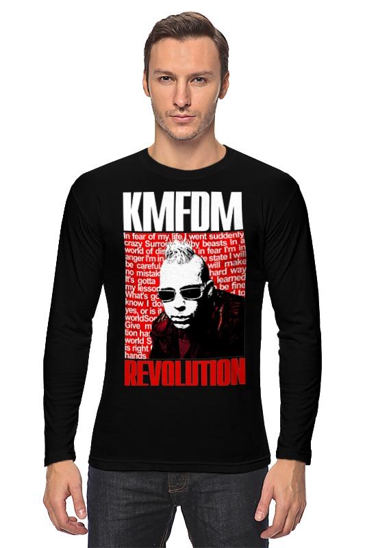 Лонгслив Printio Kmfdm revolution sascha konietzko лонгслив printio kmfdm symbols europian tour 97