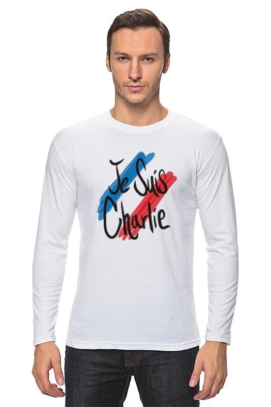 Лонгслив Printio Je suis charlie (я шарли) толстовка wearcraft premium унисекс printio je suis charlie я шарли