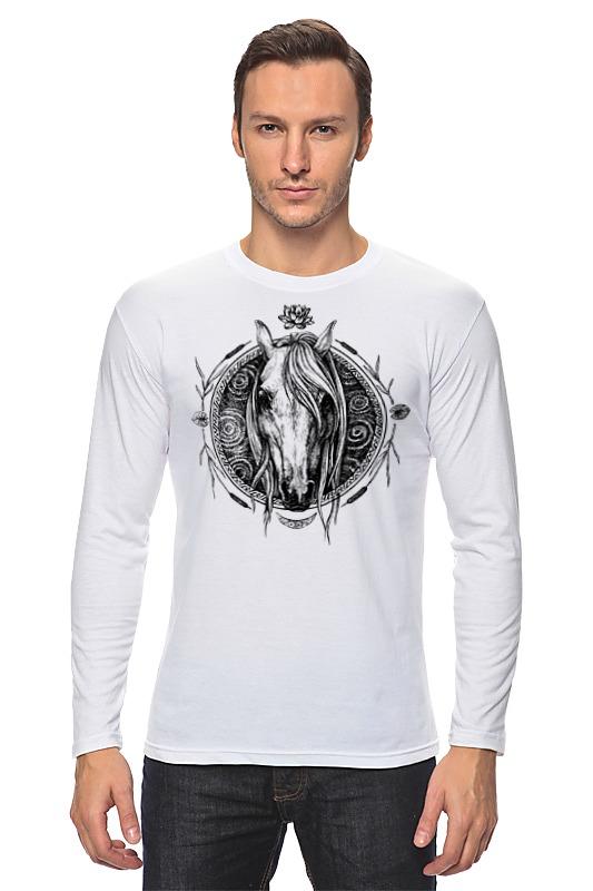 Лонгслив Printio Речная лошадь