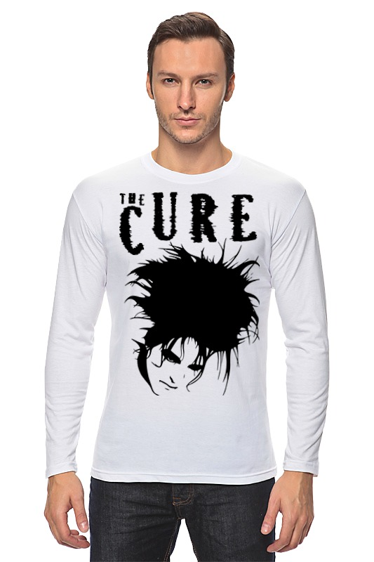 Лонгслив Printio The cure сумка printio the cure wish