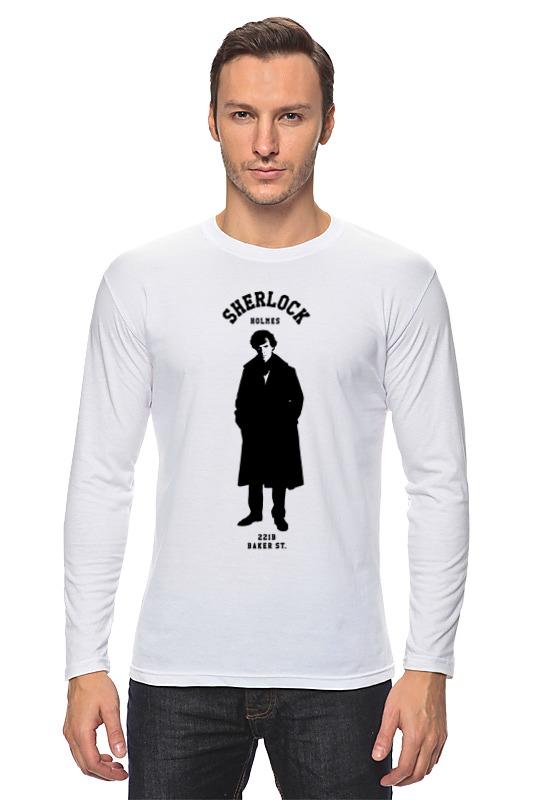 Лонгслив Printio Шерлок холмс (sherlock holmes) лонгслив printio шерлок холмс sherlock holmes