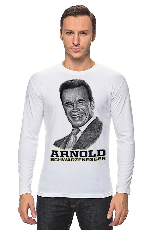 Лонгслив Printio Arnold schwarzenegger kummer frederic arnold the ivory snuff box