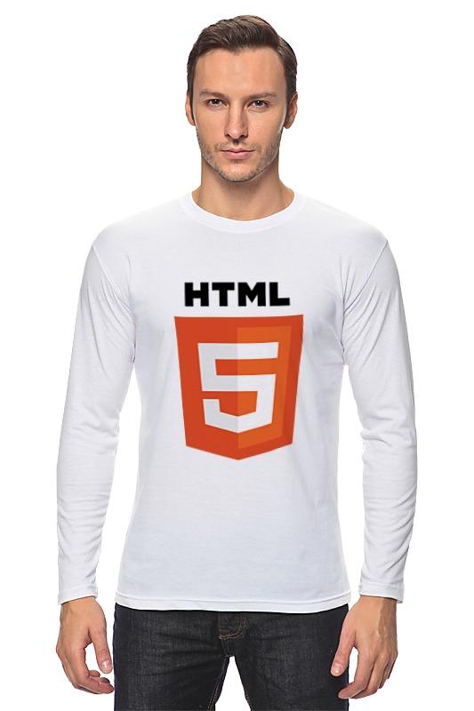 Лонгслив Printio Html 5 sitemap 74 html