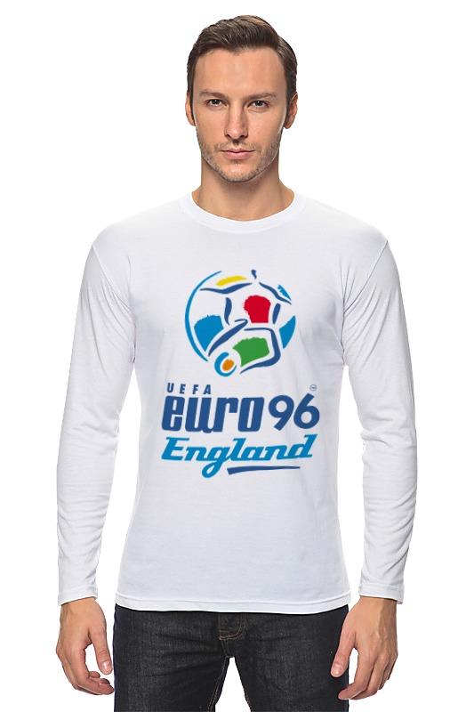 Лонгслив Printio Чемпиона европы по футболу 1996 год gianna июня европы с высоким раунд с шу ци звезда blk полоса тонкая длинная рубашка холтер платье