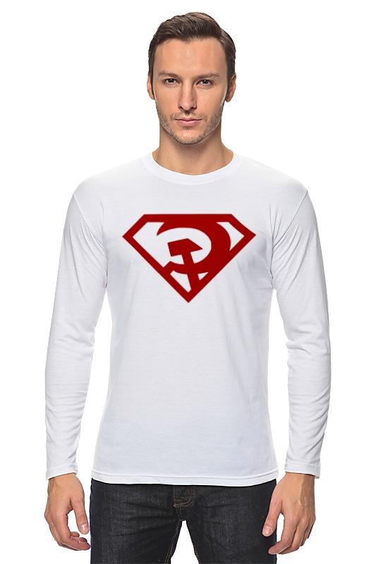 Лонгслив Printio Ссср (супермен) сумка printio ссср супермен