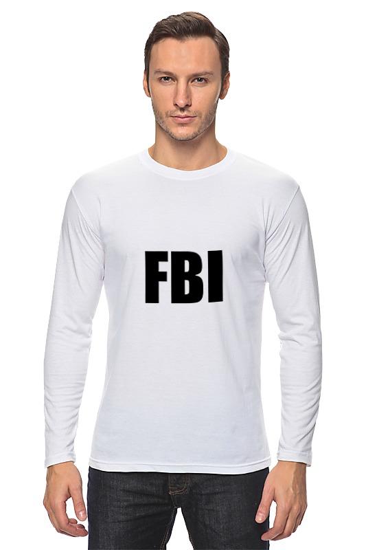Лонгслив Printio Fbi фбр сумка printio fbi agent