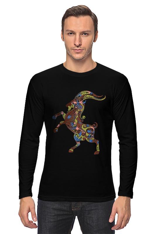 Лонгслив Printio Козел фигурка карликовый козел schleich фигурка карликовый козел