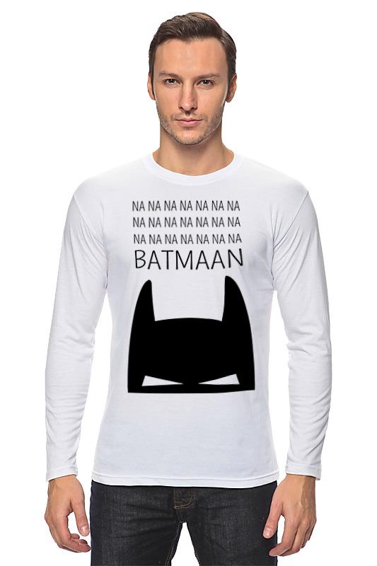 Лонгслив Printio Бетмэн ( batman ) лонгслив printio batman x twitter