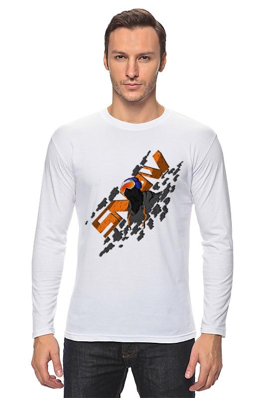 Лонгслив Printio Snowboarder свитшот print bar snowboarder