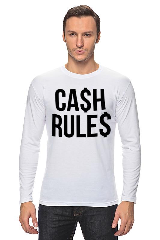 Лонгслив Printio Наличные (cash)