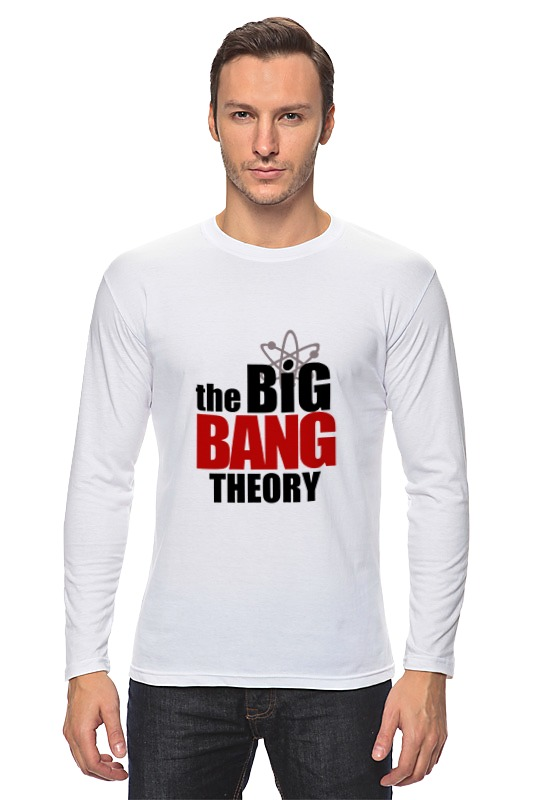 Лонгслив Printio The big bang theory the big bang theory series the flash design cotton t shirt red size m