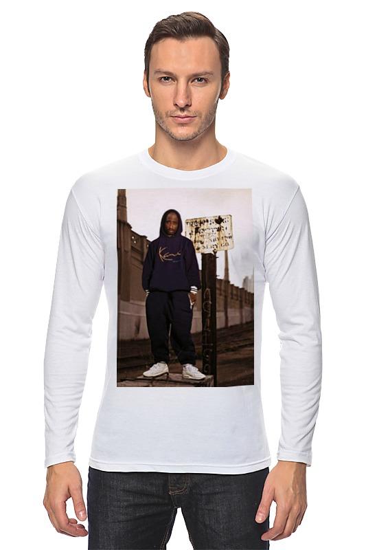 Лонгслив Printio Tupac amaru shakur футболка с полной запечаткой женская printio тупак амару шакур tupac amaru shakur