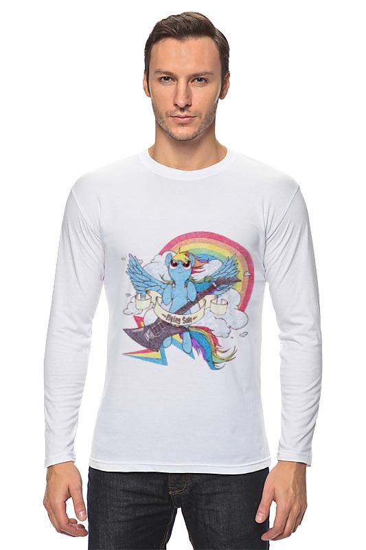 Лонгслив Printio Rainbow dash цена