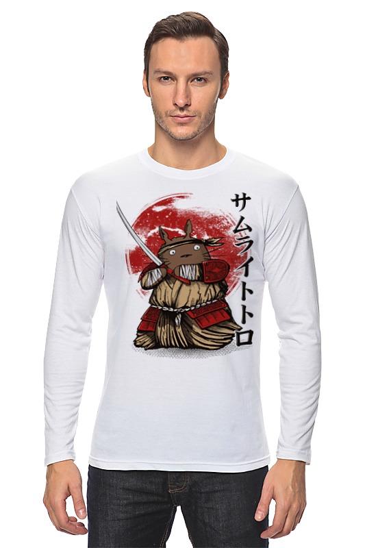Лонгслив Printio Тоторо самурай майка классическая printio тоторо самурай