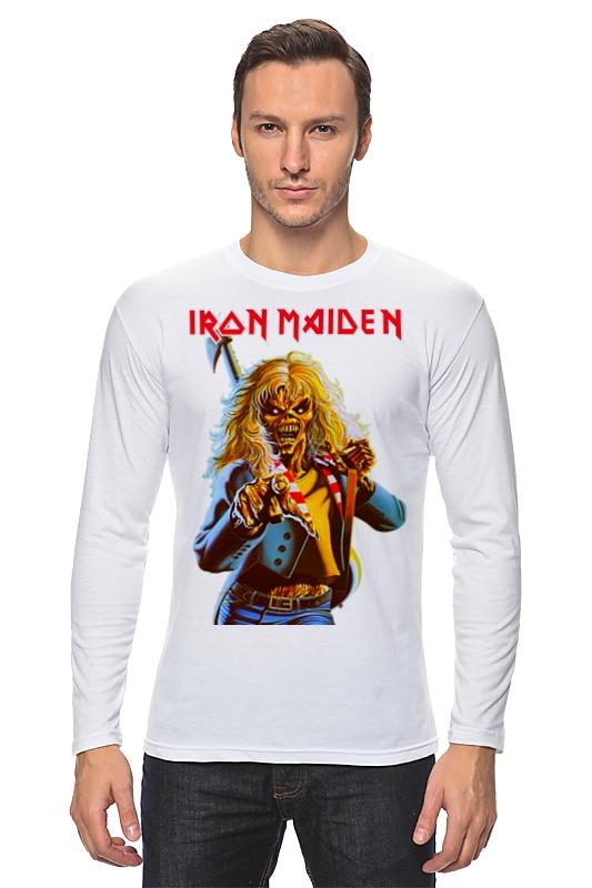 Лонгслив Printio Iron maiden band iron maiden iron maiden the final frontier