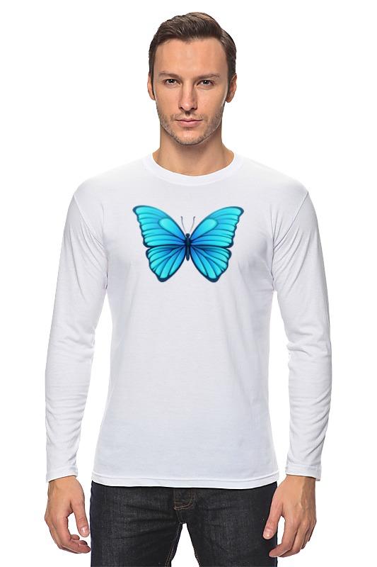 Лонгслив Printio Butterfly цена