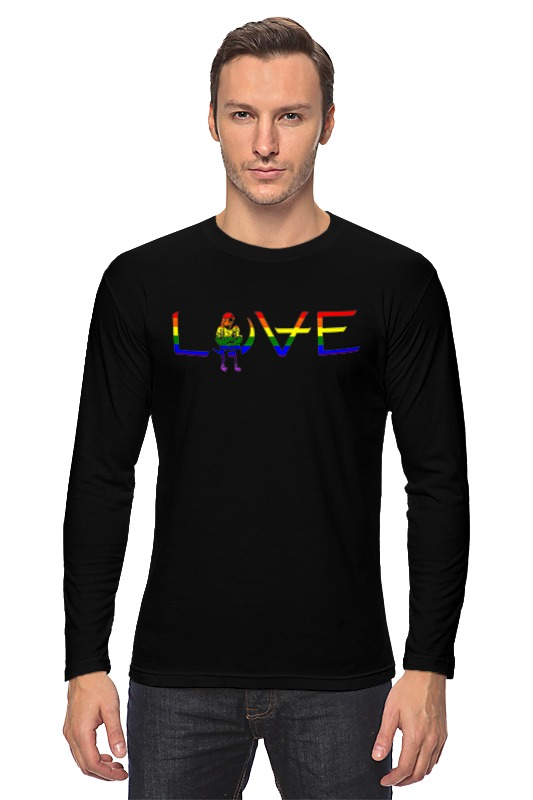 Лонгслив Printio Love for orlando футболка wearcraft premium printio love for orlando
