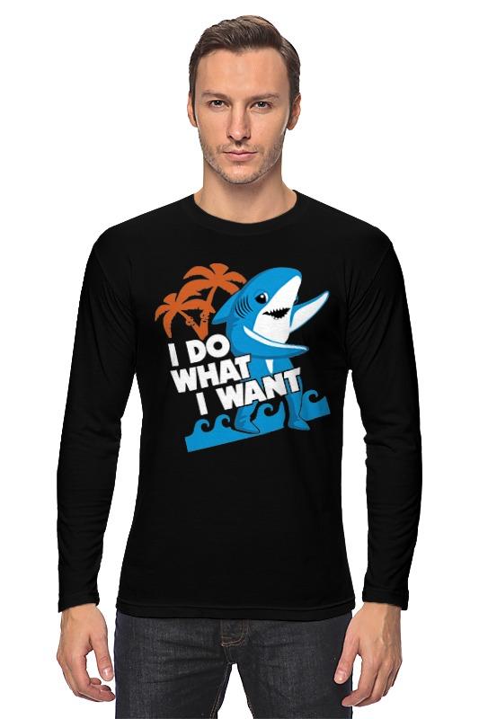 купить Лонгслив Printio Акула (shark) по цене 2040 рублей