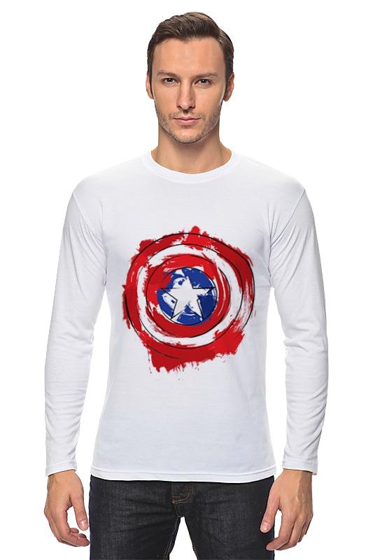 Лонгслив Printio Captain america лонгслив printio captain america